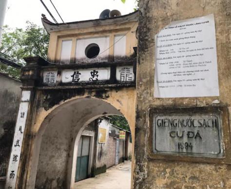 Half day Trip ~Cu Da Village & Van Phuc Village~/ Chuyến tham quan làng Cự Đà & làng Vạn Phúc -2019.11.16-