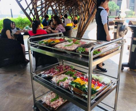【自慢できる住まいのポイント/BBQ】Điểm tự hào của Roygent Parks Hanoi- BBQ